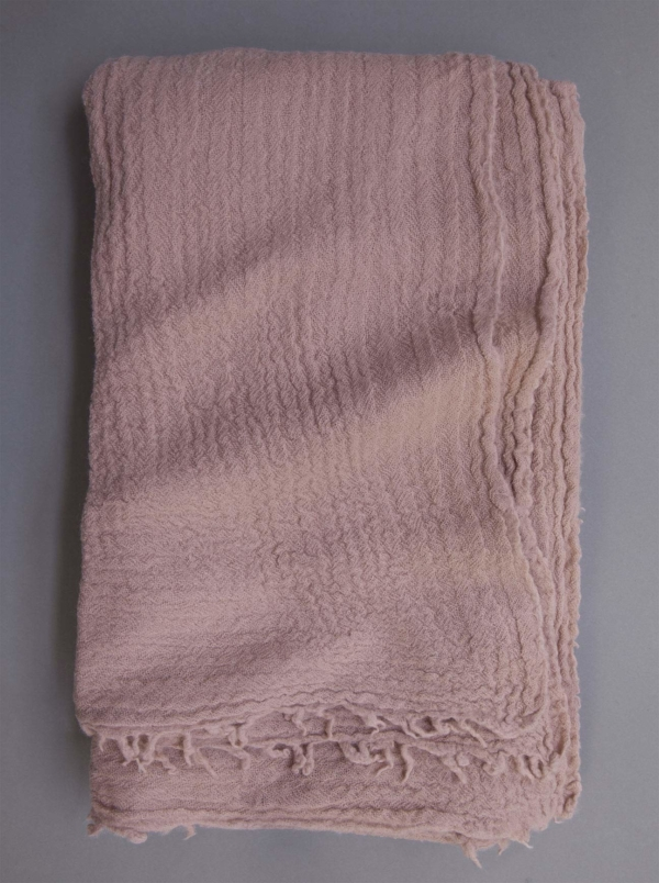 Larusi Store - 822Reversible wool shawl/throw